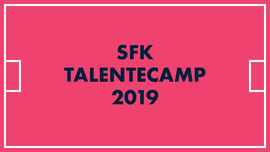 SFK Talentecamp 2019