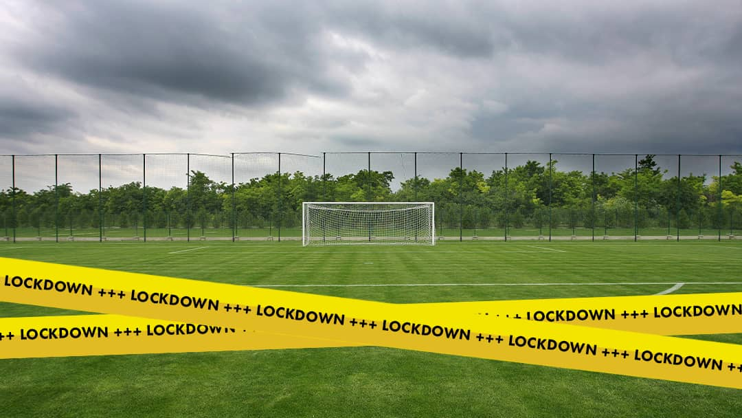 Pause während Lockdown